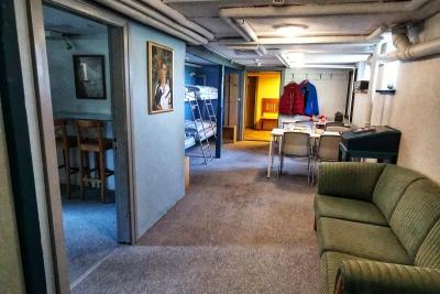 Hotel Lolland, sovesal, rigeligt med plads
